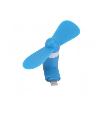 Portable phone fan