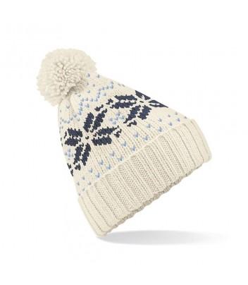 Bonnet Fair Isle snowstar