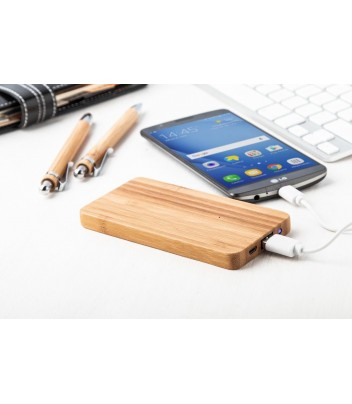 Powerbank bamboo