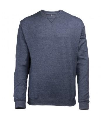 Heathered round neck sweater