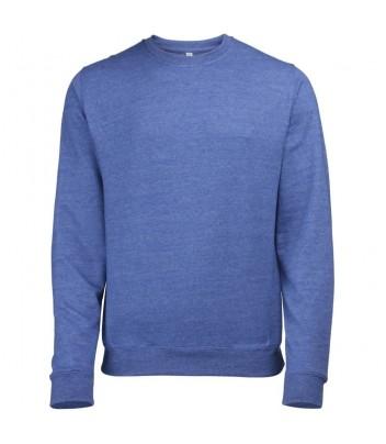 Sweater round collar melange