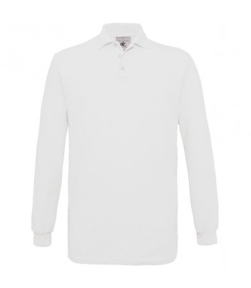 Classic long sleeve polo
