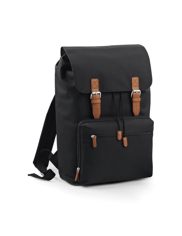 Large contrasting backpack