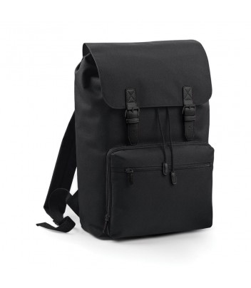 Large contrasting backpack