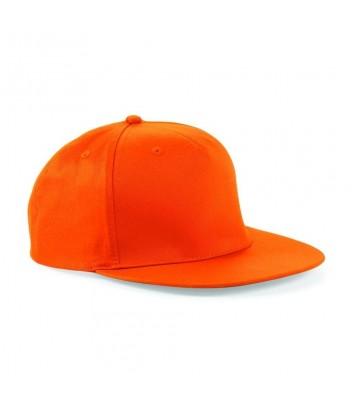 5-panel rapper snapback cap