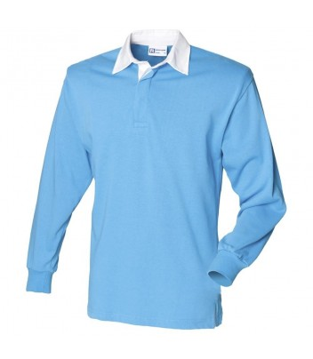 Rugby Polo shirt uni long sleeve