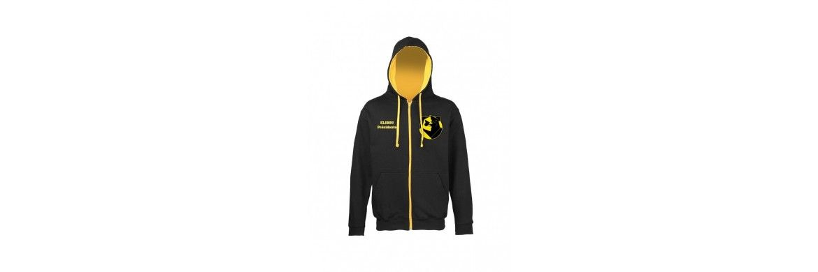 Hoodies zipped