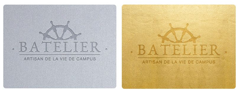 Loyalty cards Batelier Silver & Gold